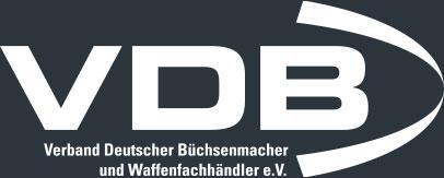 Verband Deutscher Büchsenmachen und Waffenhändler e.V. Logo weiss